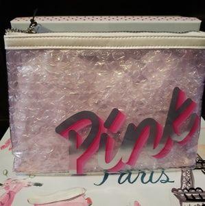 Victoria Secret Pink cosmetic bag